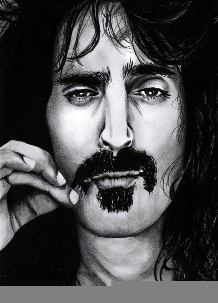 Frank Zappa by simoflame